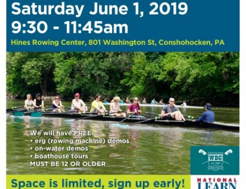 2019 National Learn to Row Day at Whitemarsh Boat Club